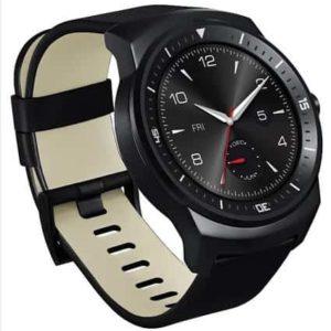 LG G Watch R Side