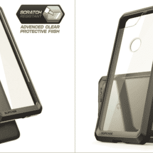 Supcase Unicorn Bettle Clear Case Pixel 2
