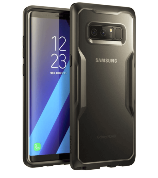 Galaxy Note 8 Unicorn Beetle Hybrid Protective Bumper Case