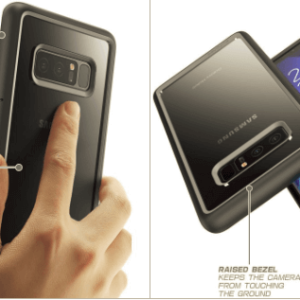 Galaxy Note 8 Unicorn Beetle Style Slim Clear Case