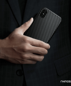 RhinoShield SolidSuit Carbon Fiber For Iphone X