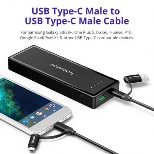 tronsmart-c4n1-4-in-1-usb-type-c-cable-black-33ft