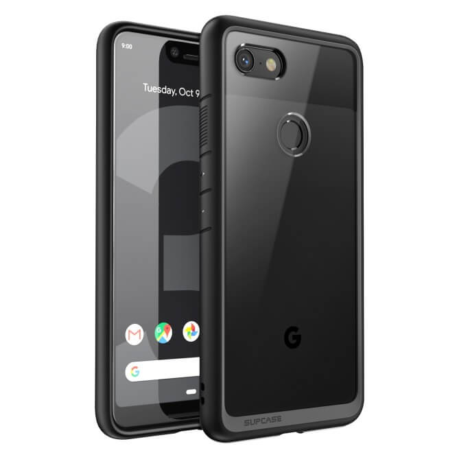 reputable site 0edb8 2fe17 Supcase Unicorn Beetle Clear Hybrid Case Google Pixel 3 XL